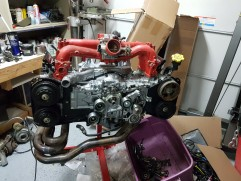Aaaaaand the Intake manfiold is backwards...shows what I know...