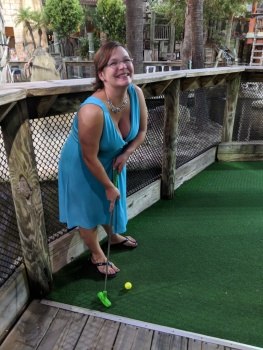 Miniature Golf...with live Alligators